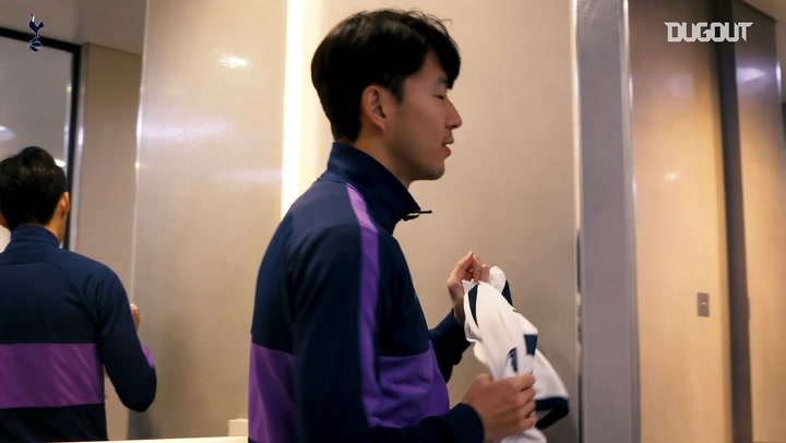 Heung-min Son surprises Spurs fans on stadium tour