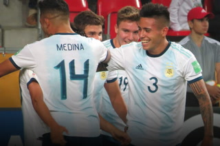 Argentina goleó 5-2 a Sudáfrica en el Mundial Sub-20 de Polonia