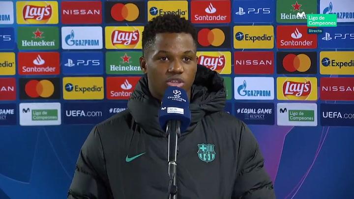 """Ansu Fati: """"Ojalá pueda jugar el Clásico, siempre lo he soñado"""""""