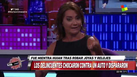 Nancy Pazos: Me preocupa más la bala de la policía que la de los delincuentes