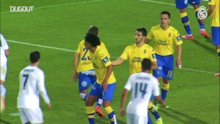 Volantes do Real Madrid: primeiro gol de Casemiro e Makélélé