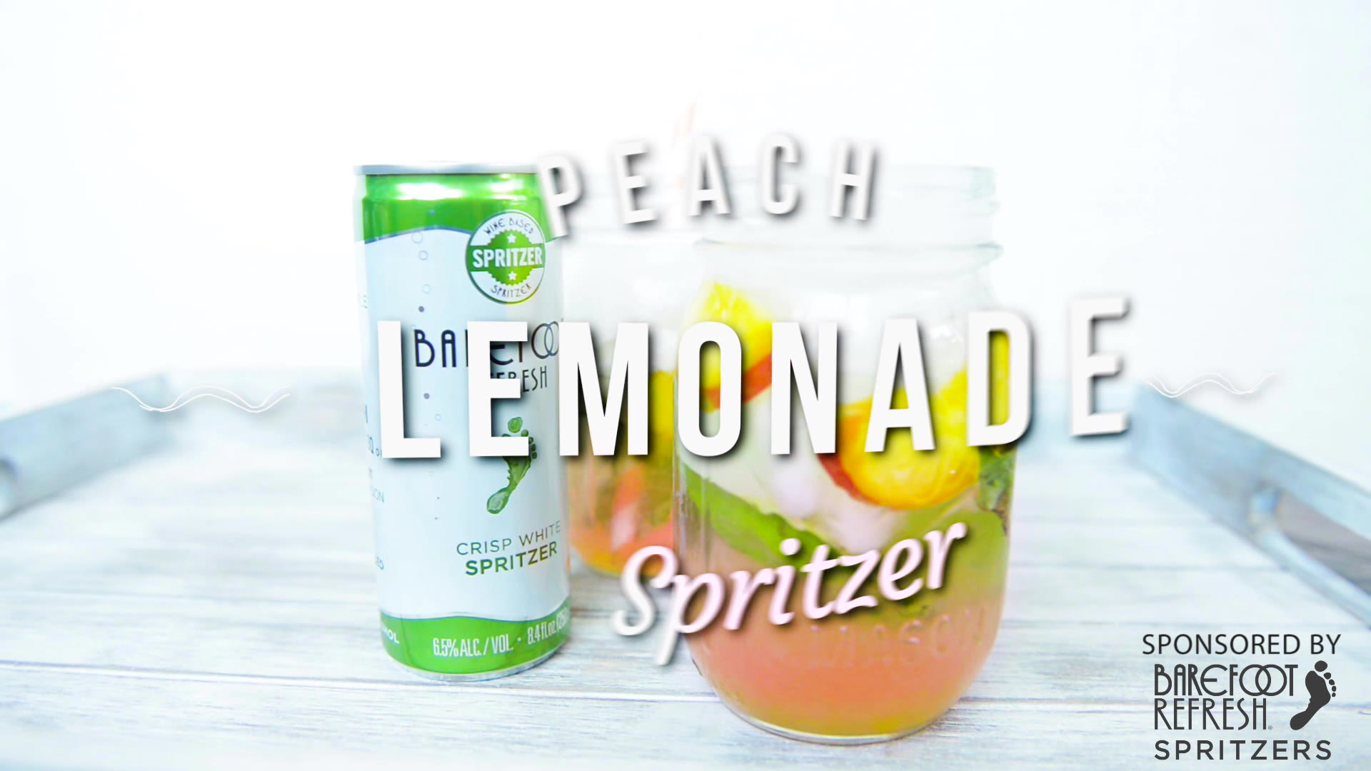 Peach Lemonade Spritzer Recipe W Vodka White Wine