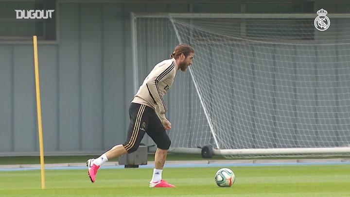 Real Madrid return to training