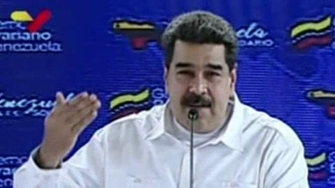Maduro arremete contra EEUU por sanciones a su esposa