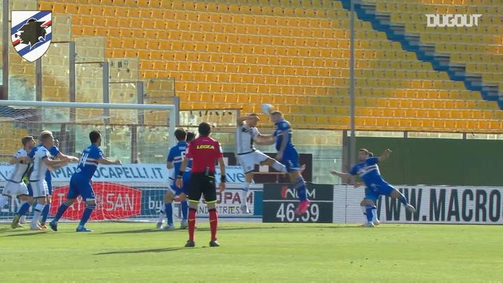 Sampdoria's best last goals at Parma