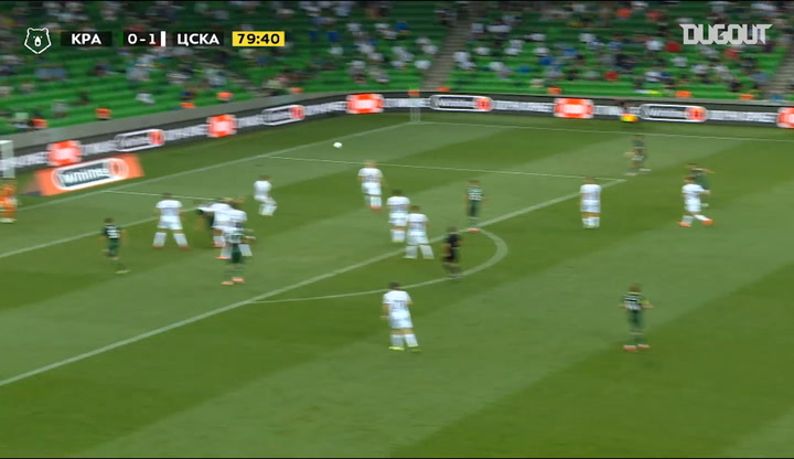 Wanderson's brilliant strike against CSKA