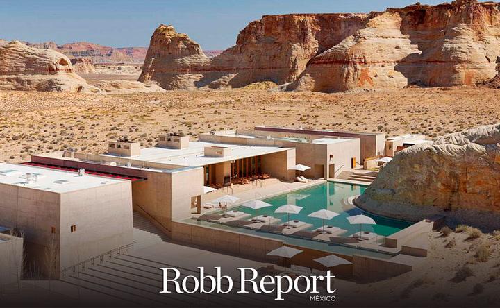 Amangiri Resort Utah, el paraíso en medio del desierto que debes conocer
