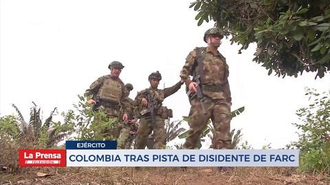Colombia tras la pista de desidente de las  FARC