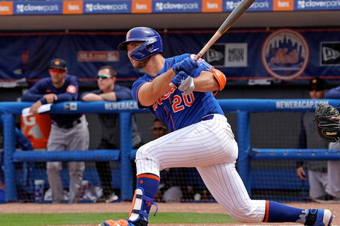 Cano, Alonso 2 hits apiece to lead Mets past Astros
