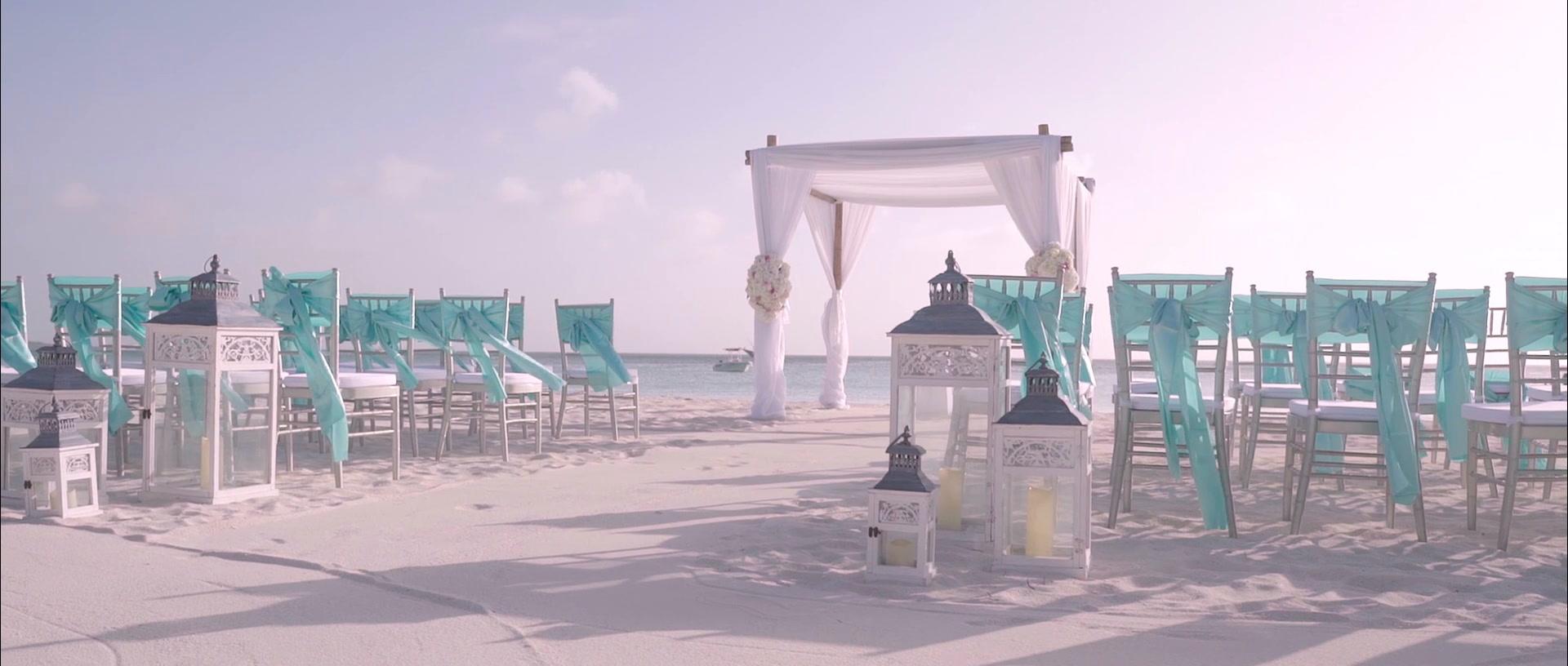 Krystle + Oliver | Oranjestad, Aruba | Ritz Carlton Aruba
