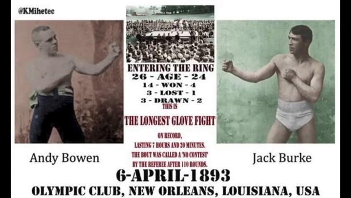 Bowen vs. Burke: 110 asaltos y 7h.19' de infierno