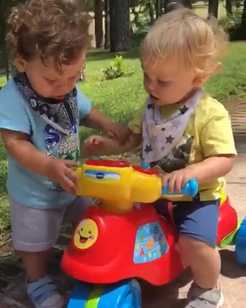 Tensión entre Mirko y el hijo más pequeño de Florencia Peña