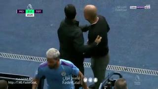 ¡Solo les faltó irse a golpes! El tenso cruce de Kun Agüero con Pep Guardiola