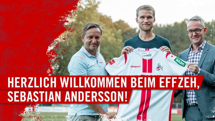 Herzlich Willkommen beim FC, Sebastian Andersson!
