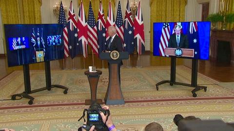 Biden embarca a Australia y a Reino Unido en una nueva alianza estratégica