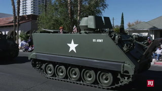 Downtown Las Vegas Celebrates Veterans Day – Video