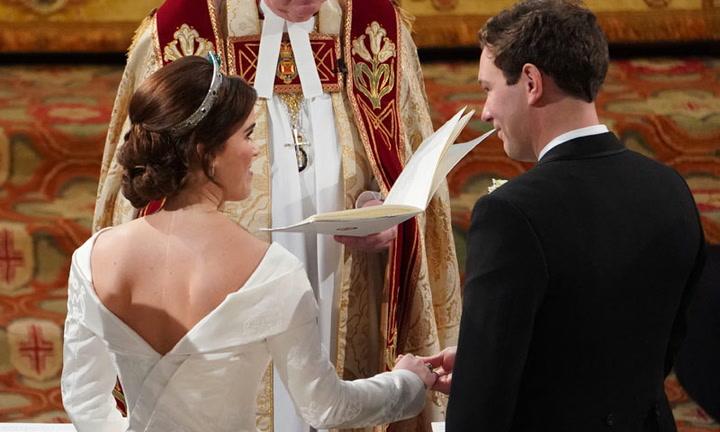 Los momentos más emotivos de la boda de Eugenia de York y Jack Brooksbank