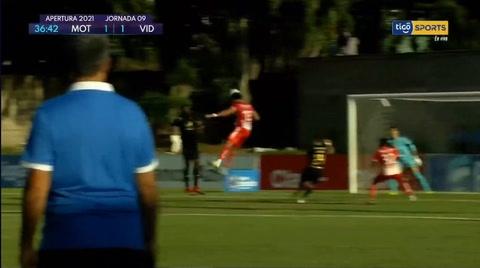 El gol del empate de Ángel Tejeda al Motagua