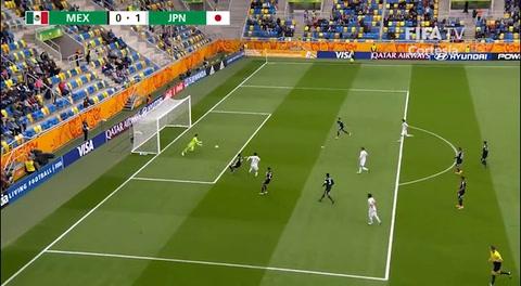 México 0-3 Japón  ( Mundial de Polonia Sub-20 )