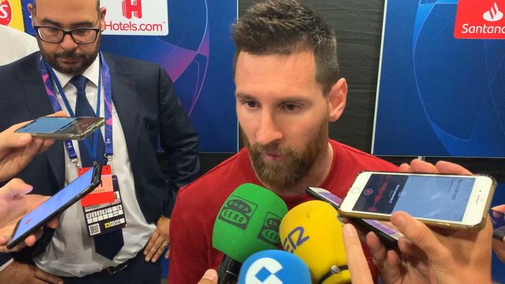 """Messi: """"¿La pretemporada? Es entendible que el club tenga que hacer estos partidos"""""""