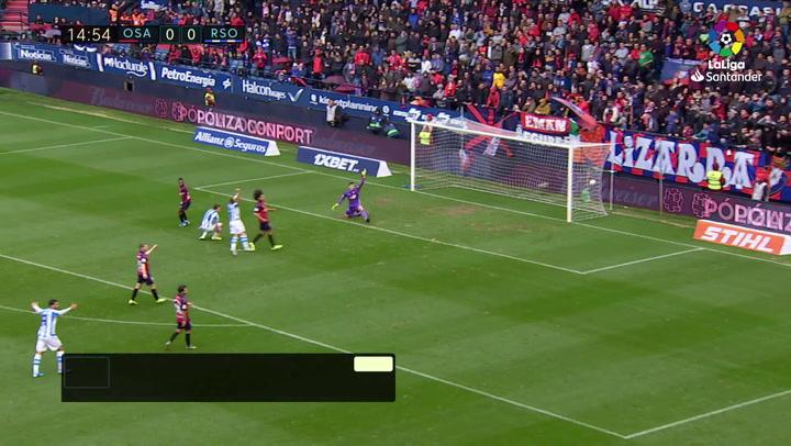 PARTIDO ODEGAARD C.A. Osasuna - Real Sociedad J18