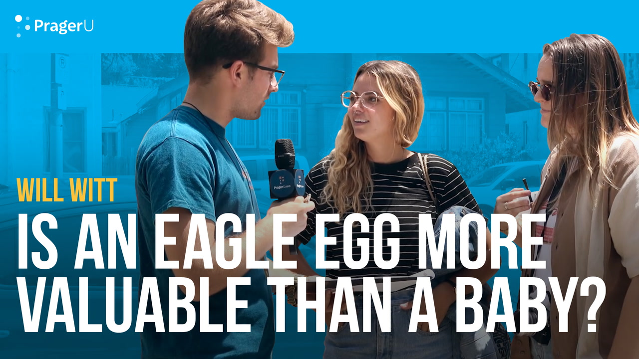 Is an Eagle Egg More Valuable Than a Baby?