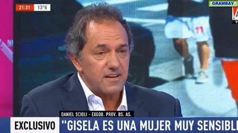 Gisela Berger salió al cruce de Scioli: Él quería que me hiciera un aborto