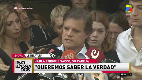 El mensaje de Quique Sacco, pareja de Débora Pérez Volpin: El cielo se equivocó