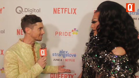 Ada Vox At The Queerty Pride 50 - Interview