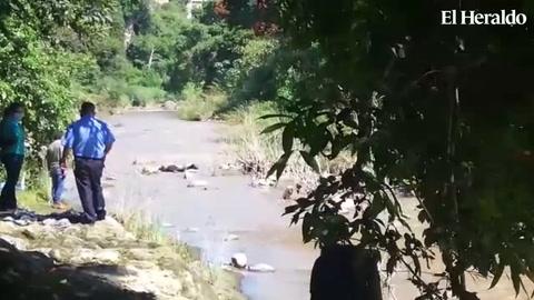 Hallan cadáver en río Guacerique de la capital de Honduras