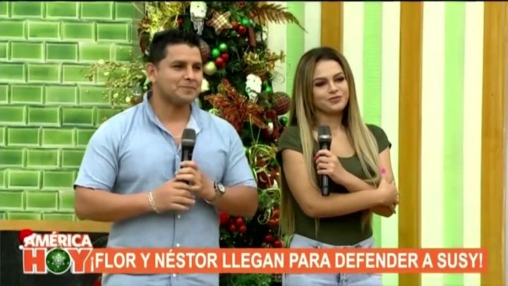 """Esposo de Florcita le envía mensaje a Susy Díaz tras sufrir infidelidad: """"No he tenido una buena relación con mi suegra pero que no piense que le voy a dar la espalda"""""""