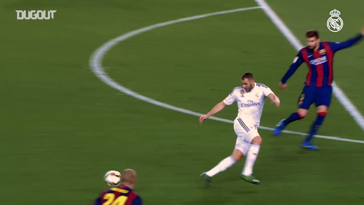 Karim Benzema's best El Clásico moments