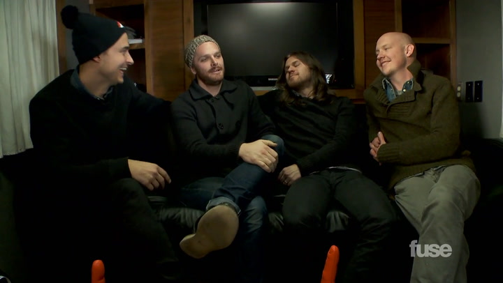 "Interviews:  The Fray Rock the Fuse Studios with ""Love Don't Die"""