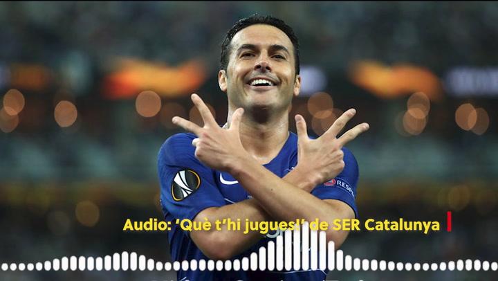 """Pedro: """"Ojalá pudiera volver al Barça"""""""