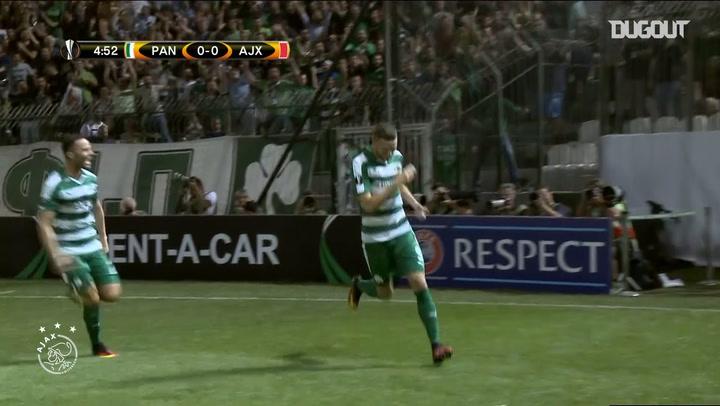 Riedewald scores as Ajax down Panathinaikos