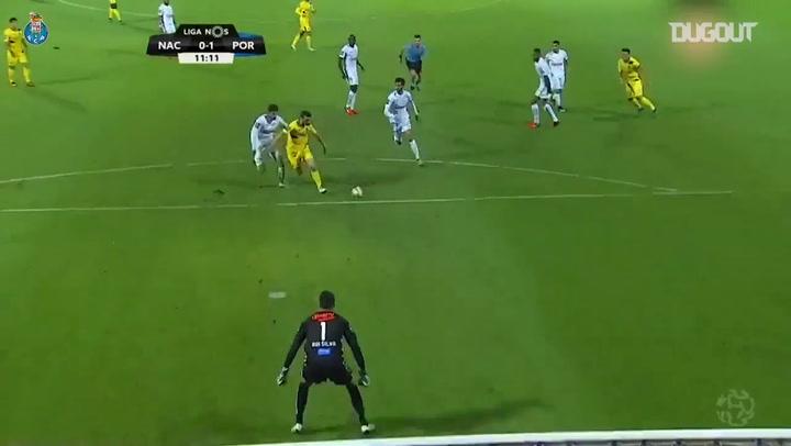 El Hat-trick de Diego Jota ante el CD Nacional