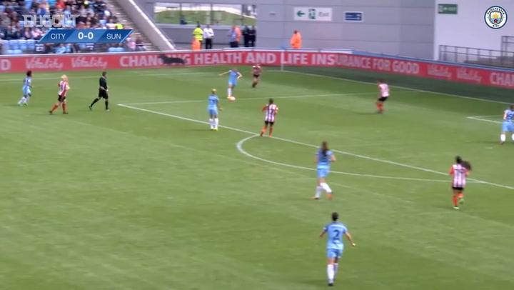 Georgia Stanway bags hat-trick vs Sunderland