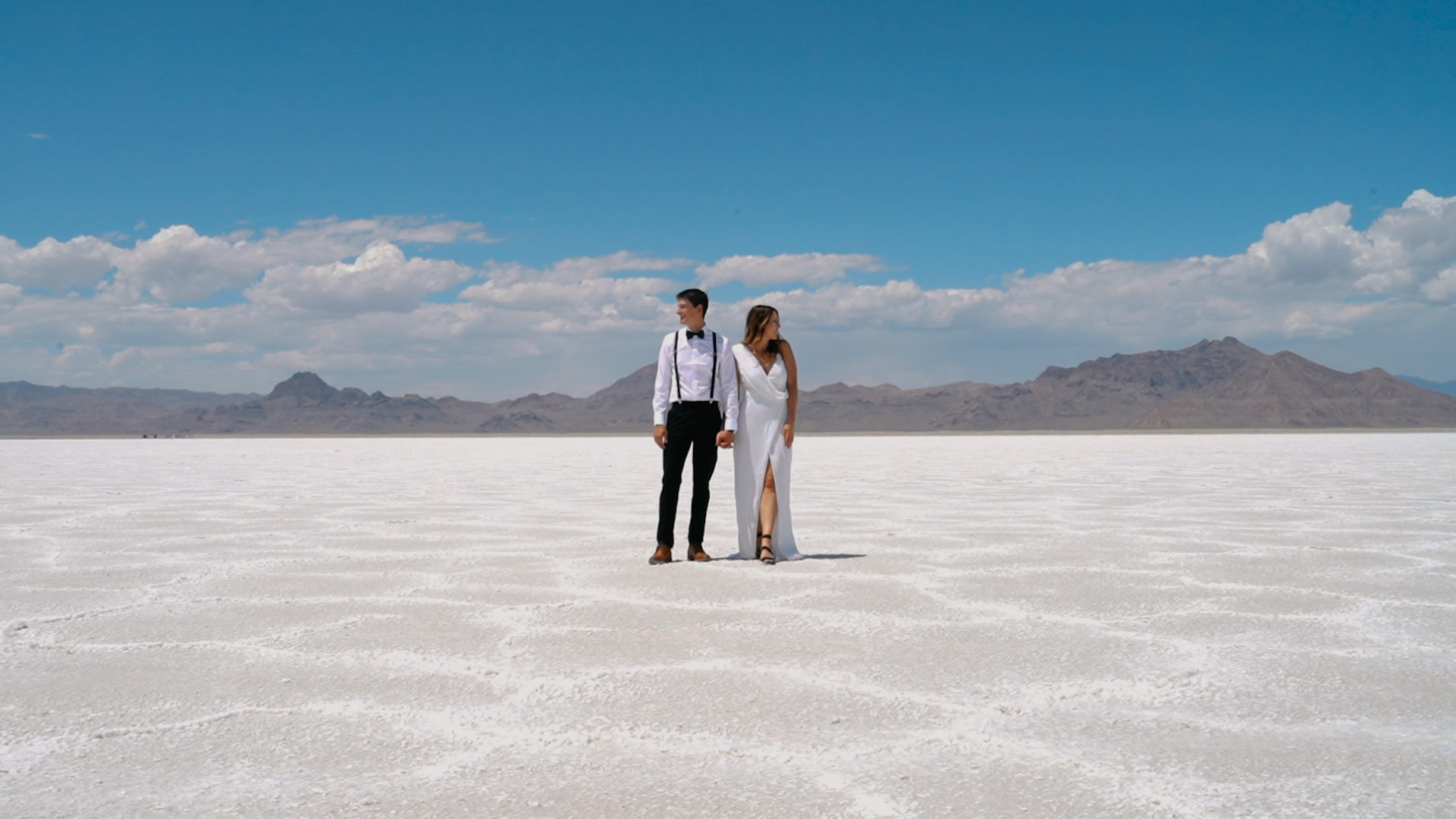 Madison + Dallas | Salt Lake City, Utah | Bonneville Salt Lake Flats