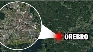 Turistbuss fra Norge velta i Sverige - fem sendt til sykehus