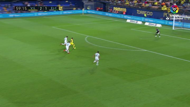 Gol de Danjuma (3-1) en el Villarreal 4-1 Elche