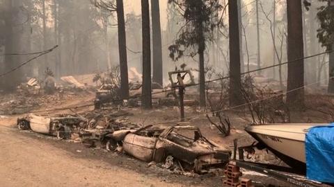 Incendio forestal de California ya devoró superficie equivalente a Chicago