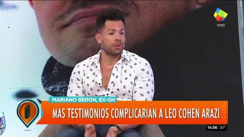 Mariano Beron contra Leo Cohen Arazi: Esta noticia no me sorprendió