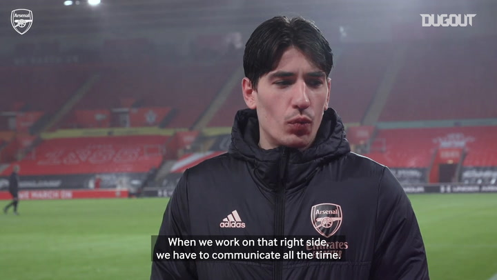 Bellerin: 'Saka wants to learn all the time'