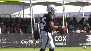 Raiders Training Camp Day 11: Day 2 of Joint Practice with the Rams – VIDEO