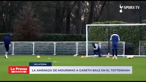 La amenaza de Mourinho a Gareth Bale en el Tottenham