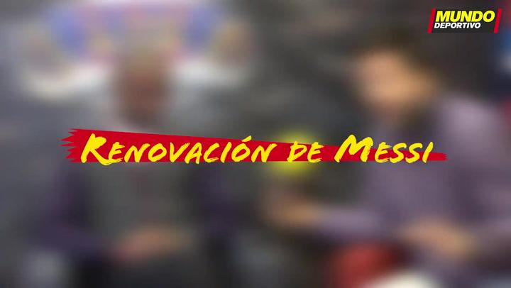Entrevista Éric Abidal: La renovación de Messi