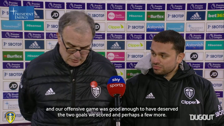 Bielsa: 'The most important thing is to show consistency'