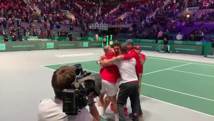 Canadá hace historia con su primera final de Copa Davis