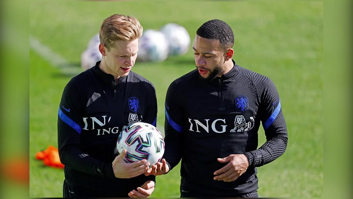 Depay compartió hace unos días en su Instagram un guiño con De Jong