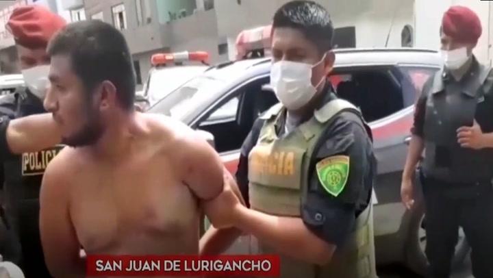 Hermanos son detenidos por realizar disparos al aire en San Juan de Lurigancho